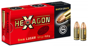 Geco 9mm Luger Hexagon 124grain